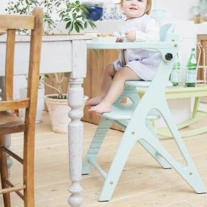 ベビーチェアー 新AFFELチェア テーブル&ガード付き パステルカラー ダイニングチェアー 子供椅子   da-affel|crescent