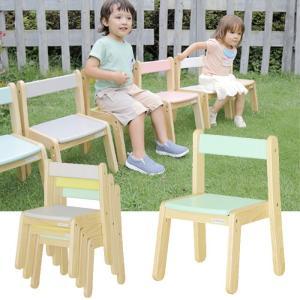 子供椅子 学習椅子 コンパクト ノスタ リトルチェア 送料無料 カラフル デスク用|crescent