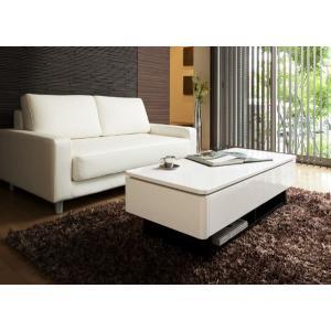シンプルモダン テーブル センターテーブル センターテーブル テーブル ローテーブル 引出付き|crescent