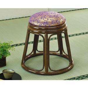 籐家具 ラタン ご仏前スツール 法事、仏事に。 正座がつらい方に 敬老の日|crescent