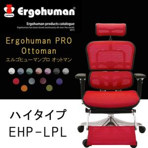 エルゴヒューマン プロ オットマン内蔵型 多機能 オフィスチェア Ergohuman Pro Ott...