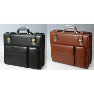 牛革 ダレスバッグ/メンズビジネスバック bgmcl13057 ブラック、タン  スーツに良く似合う高級感あふれるビジネスバッグ あすつく|crescent