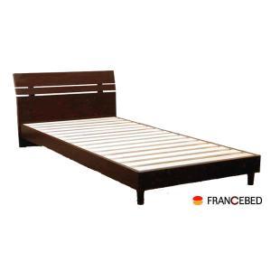 国産 2色対応フランスベッド ダブル 桐すのこベッド フレームのみ ダブル   FRANCEBED|crescent