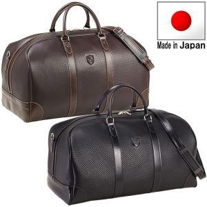 ボストンバッグ 旅行かばん 合皮 48cmサイズ 日本製 豊岡の鞄 豊岡製 10405 ボストンバッグ さらに特典付き 特選|crescent