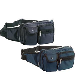 ウエストバッグ 幅24cm ブラック 黒 ネイビー 紺 腰掛バッグ 腰バッグ ヒップバッグ ウエストポーチ 鞄 カバン かばん 25738 pt10|crescent