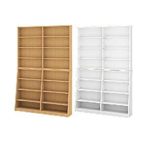 コミック・文庫本ラックの本の収納家具120×180 書棚・本棚 crescent