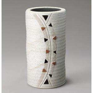 信楽焼 傘立て トライアングル傘立 S  信楽焼き/滋賀県 日本の代表的な伝統工芸品|crescent