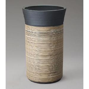 信楽焼 傘立て ストリーム傘立 L  信楽焼き/滋賀県 日本の代表的な伝統工芸品|crescent