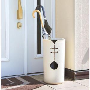 信楽焼 傘立て ツートンカット傘立 信楽焼き/滋賀県 日本の代表的な伝統工芸品|crescent