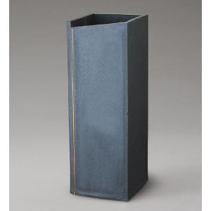 信楽焼 傘立て スクエアーライン傘立 信楽焼き/滋賀県 日本の代表的な伝統工芸品|crescent