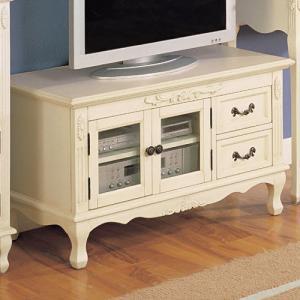 白家具 テレビ台 ローボード 輸入家具 クラシック|crescent