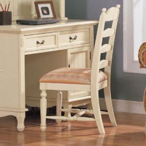 白家具 デスクチェア 輸入家具|crescent