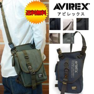 ボディバッグ  AVIREX レッグバッグ |crescent