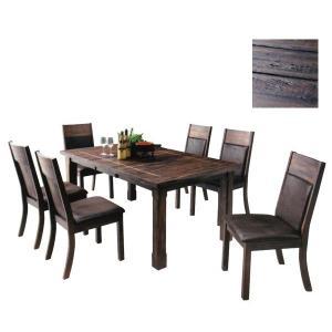 ダイニングセット7点 テーブル幅140/180cm 伸縮 伸張式ダイニングテーブルダニングセット7点 食卓セット GOK型|crescent