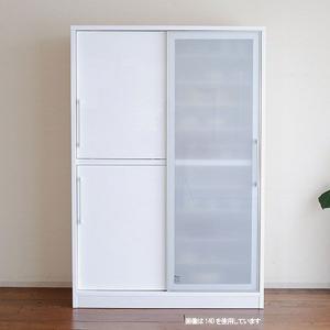 食器棚 光沢の有る 鏡面仕上げ 大型スライドドア レンジボード 140幅 奥行45 Bernex(ベルネ)(ベイス)食器棚 SOK 食器棚 開梱設置送料無料 m082-|crescent