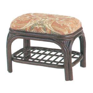 玄関スツール ラタン 軽い椅子|crescent