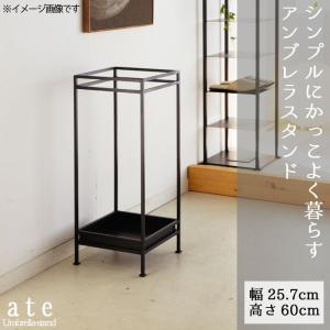 アンブレラスタンド ブラック アイアン 傘収納 玄関家具 便利 人気 シンプル かっこいい かっこイイ|crescent