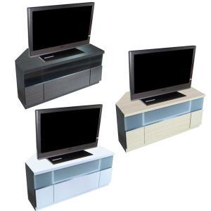 32型対応 次世代テレビ台 コーナーテレビボード コーナーテレビ台 幅90 Deeシリーズ 液晶プラズマテレビ、薄型テレビ対応|crescent