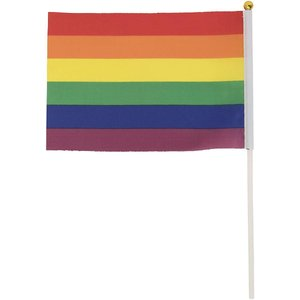 東京レインボープライド 特別公認 フラッグ 旗 小 レインボー