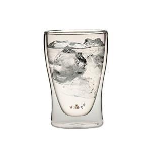 Hurex 耐熱ダブルウォールグラス 220ml 4個セット[HU-M6157*4]の商品画像 ナビ