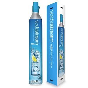 ≪新規≫SodaStream ソーダストリーム ガスシリンダー60L (予備用) ※新規購入は本ガスシリンダーをご購入下さいの商品画像 ナビ