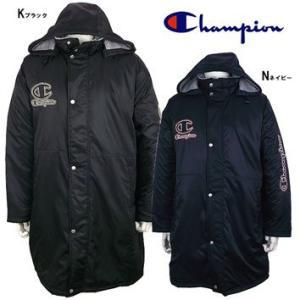 Champion(チャンピオン) ボアコート ブラック CJ9429|crescentsports