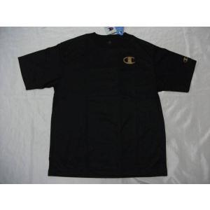 Championチャンピオン 半袖プラTシャツ ブラック CM1252A|crescentsports