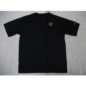Championチャンピオン 半袖プラTシャツ ネイビー CM1252A|crescentsports