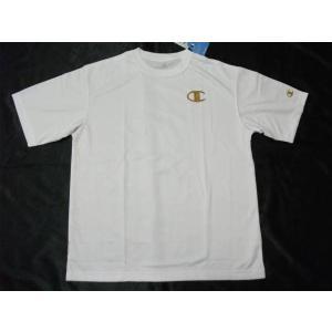 Championチャンピオン 半袖プラTシャツ ホワイト CM1252A|crescentsports
