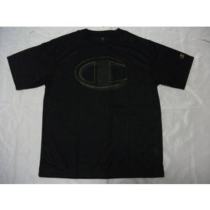 Championチャンピオン 半袖プラTシャツ ブラック CM1252B|crescentsports