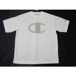 Championチャンピオン 半袖プラTシャツ ホワイト CM1252B|crescentsports