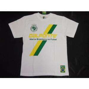 DalPonteダウポンチ CRUZBOLATシャツ ホワイト DPZ0039|crescentsports