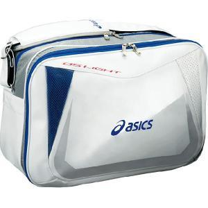 asicsアシックス DS LIGHT エナメル ショルダーバッグ EBS116 0145|crescentsports