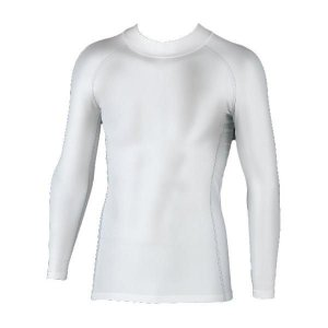 おたふく手袋 BODY TOUGHNESSパワーストレッチ ハイネックシャツ ホワイト JW-170|crescentsports