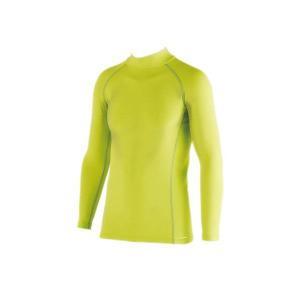 おたふく手袋 BODY TOUGHNESSパワーストレッチ ハイネックシャツ ライトグリーン JW-171|crescentsports