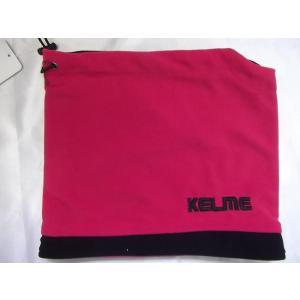KELME ケルメ リバーシブル ネックウォーマー ブラック/ピンク KA431 crescentsports