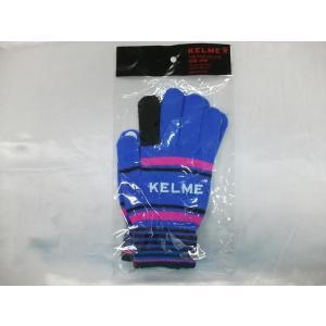 KELME(ケルメ) ニットグローブ 手袋 KA450 ブルー crescentsports