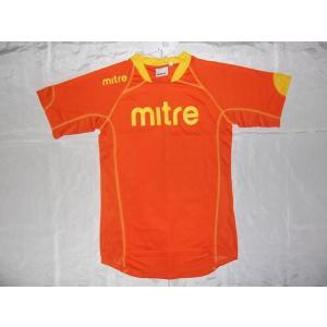 MITRE マイター プラクティススーツ ウェア 上下 ジュニア オレンジ M28580|crescentsports