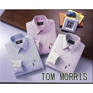 TOM MORRIS トム・モリス 高級エジプト綿 メンズシャツ3色組 (代引不可)|cresco