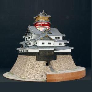 ウッディジョー 木製模型 安土城 天守閣 1/150 織田信長 (代引不可)