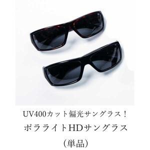 サングラス ポラライトHDサングラス 単品(送料無料)|cresco