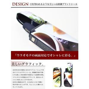 iQOS アイコス シール カバー タバコ ステッカー IQOSシール IQOSステッカー ケース 裏表セット cresh 05