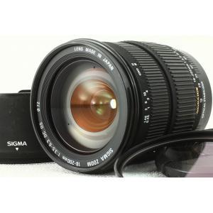 SIGMAシグマ AF 18-200mm F3.5-6.3 DC OS Canonキヤノン◆美品ランク