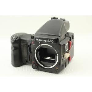Mamiya マミヤ 645 PRO AE ワインダー付◆中判フィルムカメラ 外観美品ランク