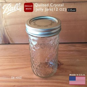 Ball Quilted Crystal Jelly Jars 12 OZ 335ml 81400 ...