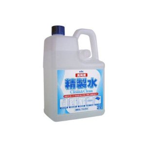 KYK 古河薬品工業  高純度精製水 クリーン&クリーン 2L10本(ノズル付)入り   02-101|crkhanbai