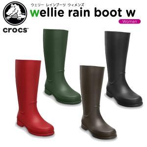 クロックス(crocs) ウェリー レインブーツ ウィメンズ...