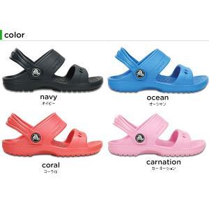 クロックス(crocs) クラシック サンダル キッズ (classic sandal kids) キッズ/サンダル/シューズ/子供用[C/A]|crohas|03