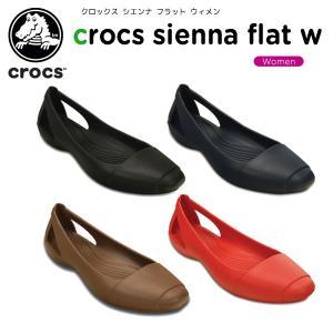 クロックス(crocs) クロックス シエンナ フラット ウ...