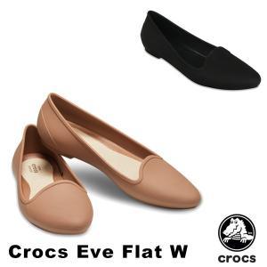 クロックス(crocs) クロックス イヴ フラット ウィメン(crocs eve flat w) /レディース/女性用/シューズ/フラットシューズ